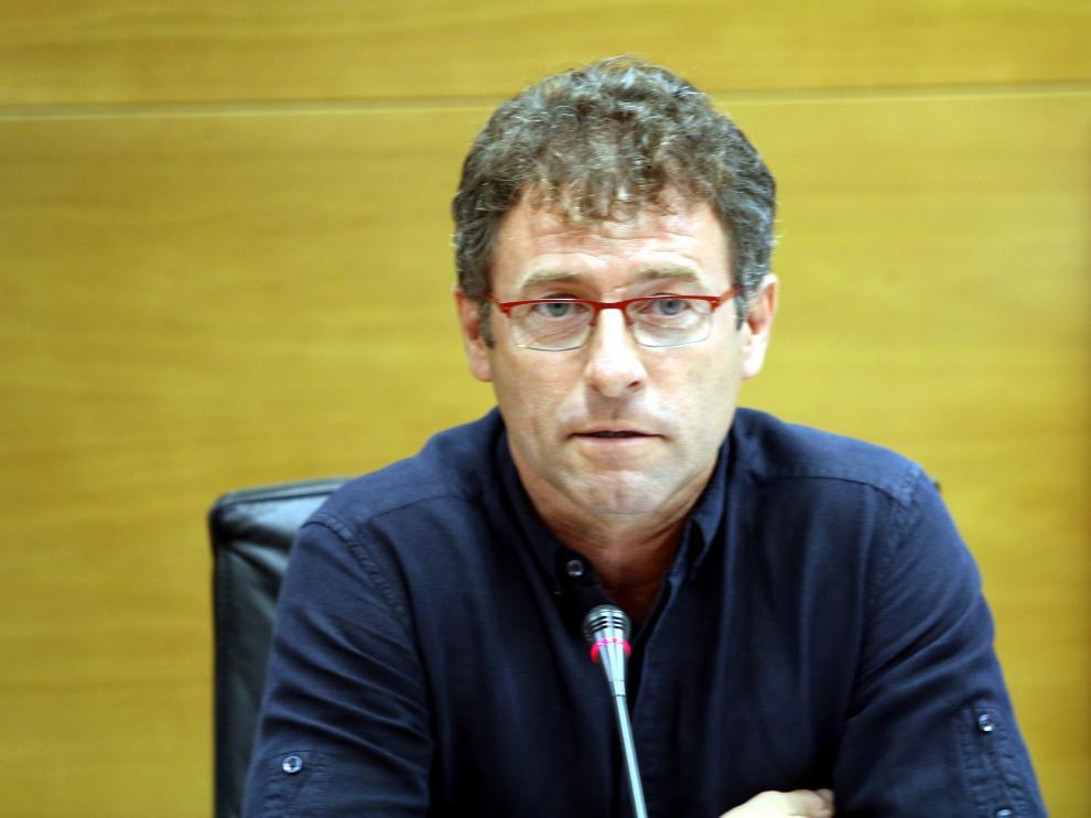 El presidente de la Comarca del Bajo Cinca, Marco Ibarz.