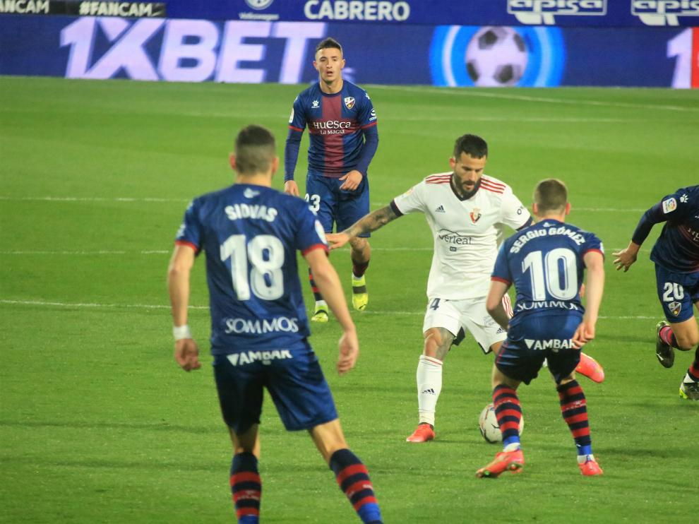 sd Huesca- 0 Osasuna 0 20 - 3 - 21 foto pablo segura[[[DDA FOTOGRAFOS]]]