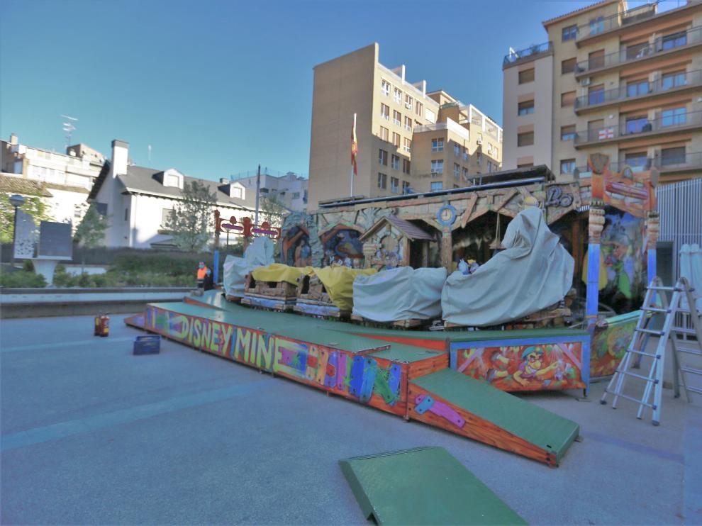 atraccion ferias plaza san antonio 24 - 3 - 21 foto pablo segura