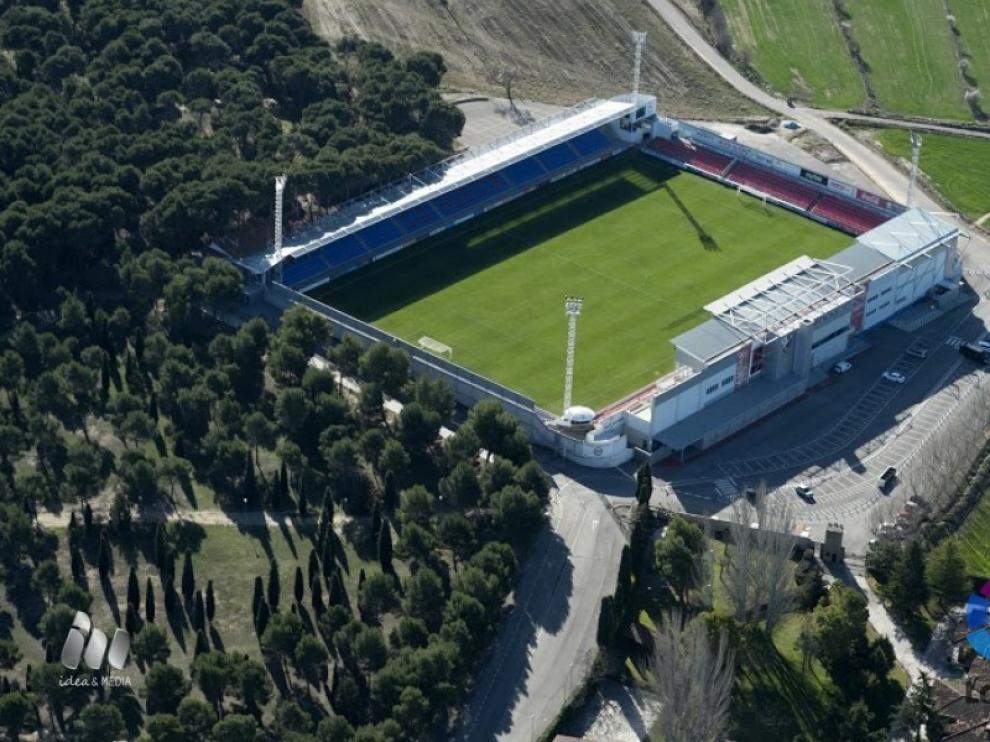 Estadio de El Alcoraz en 2017