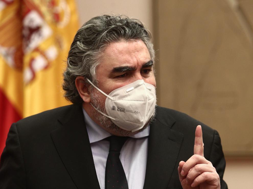 José Manuel Rodríguez Uribes, ministro de Cultura