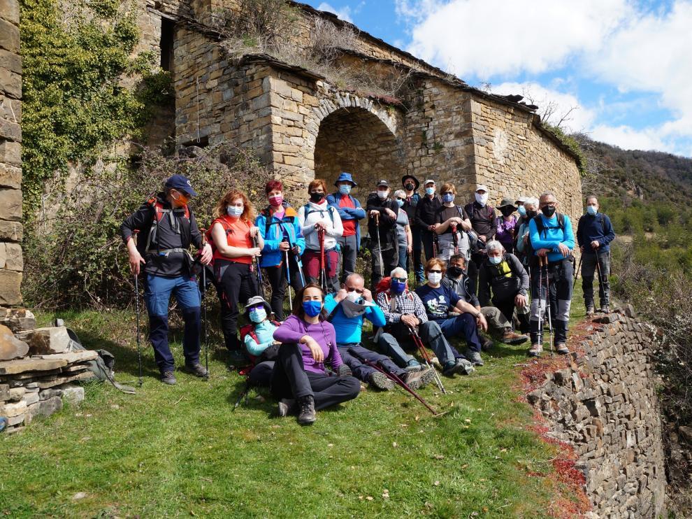 El grupo de Turismo por el Alto Aragón completó una nueva salida.
