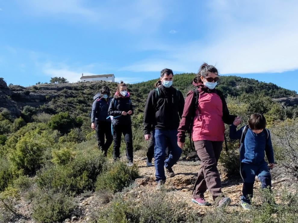 La última salida de Peque Guara contó con 46 excursionistas.