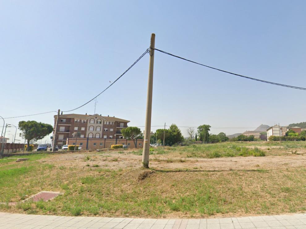 Formalizada la desafección del terreno para la residencia comarcal en Fraga.