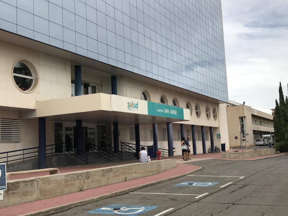 Fachada del hospital San Jorge