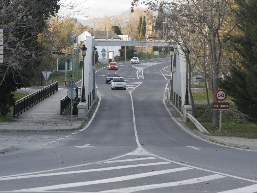 Puente de San Miguel en Huesca