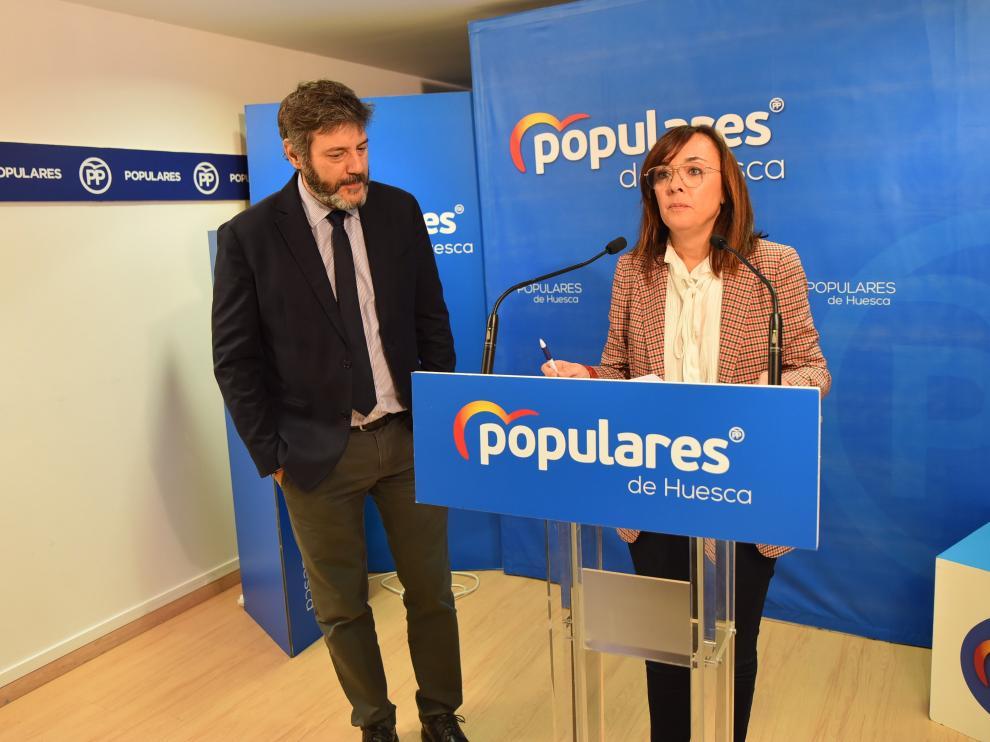 Gemma Allué, portavoz del PP en el Ayuntamiento de Huesca, no será cabeza de lista en 2023.