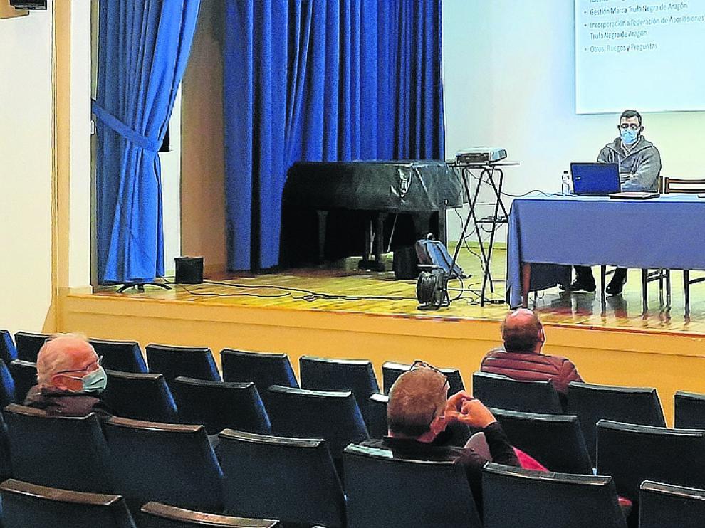 Asamblea de la Asociación de Truficultores de Aragón, celebrada en Graus