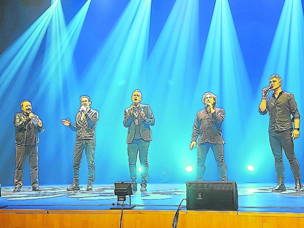 Imagen de la actuación de b vocal en Sabiñánigo