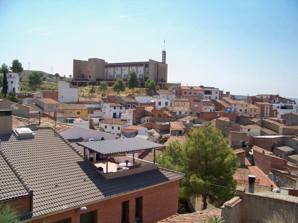Foto de archivo de Fraga, la localidad grande con más incidencia de covid de la provincia.