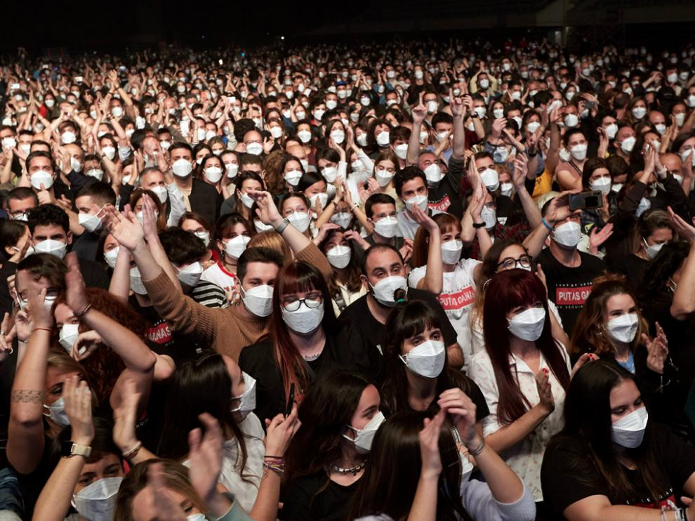 Imagen del concierto de Love of Lesbian en Barcelona.