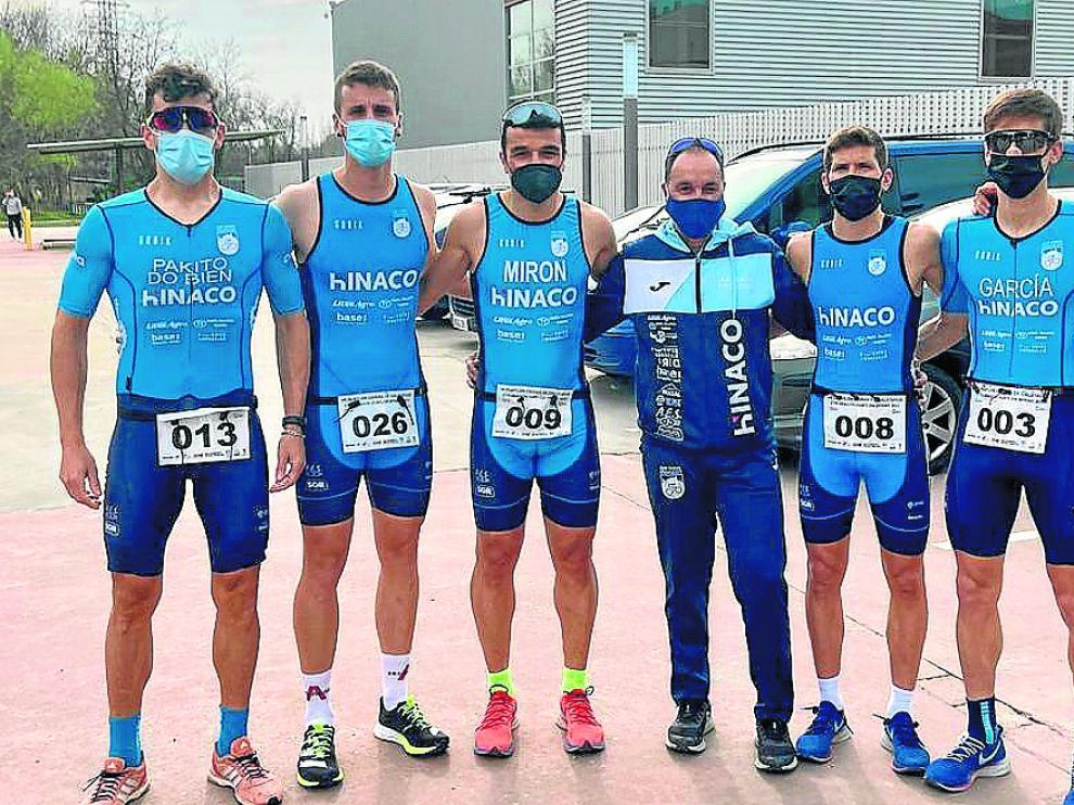 El Hinaco CC Monzón fue subcampeón de Aragón por equipos en categoría masculina.