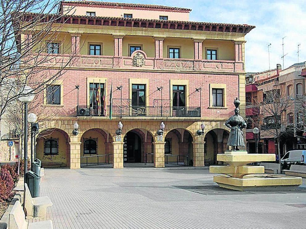 Casa consistorial de la plaza de España.