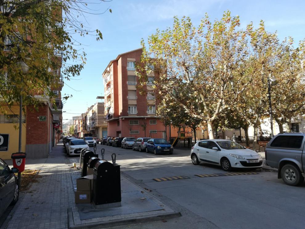 Imagen de la calle Huesca de Fraga