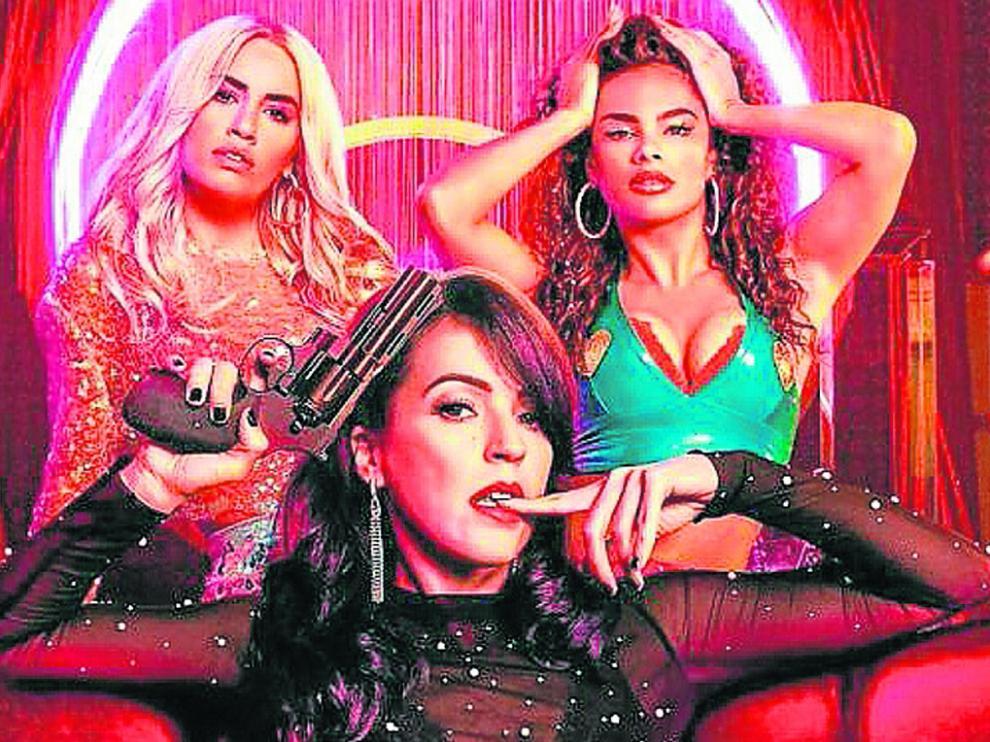 Lali Espósito, Verónica Sánchez y Yany Prado protagonizan 'Sky Rojo', el nuevo éxito de Netflix.
