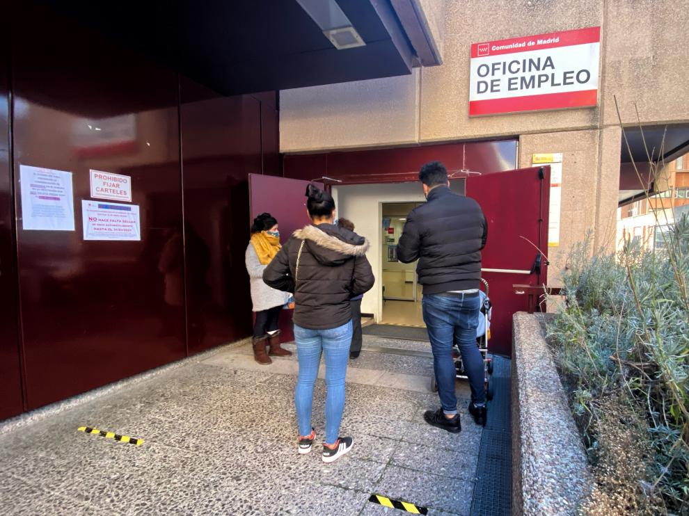 Desempleo oficina del paro