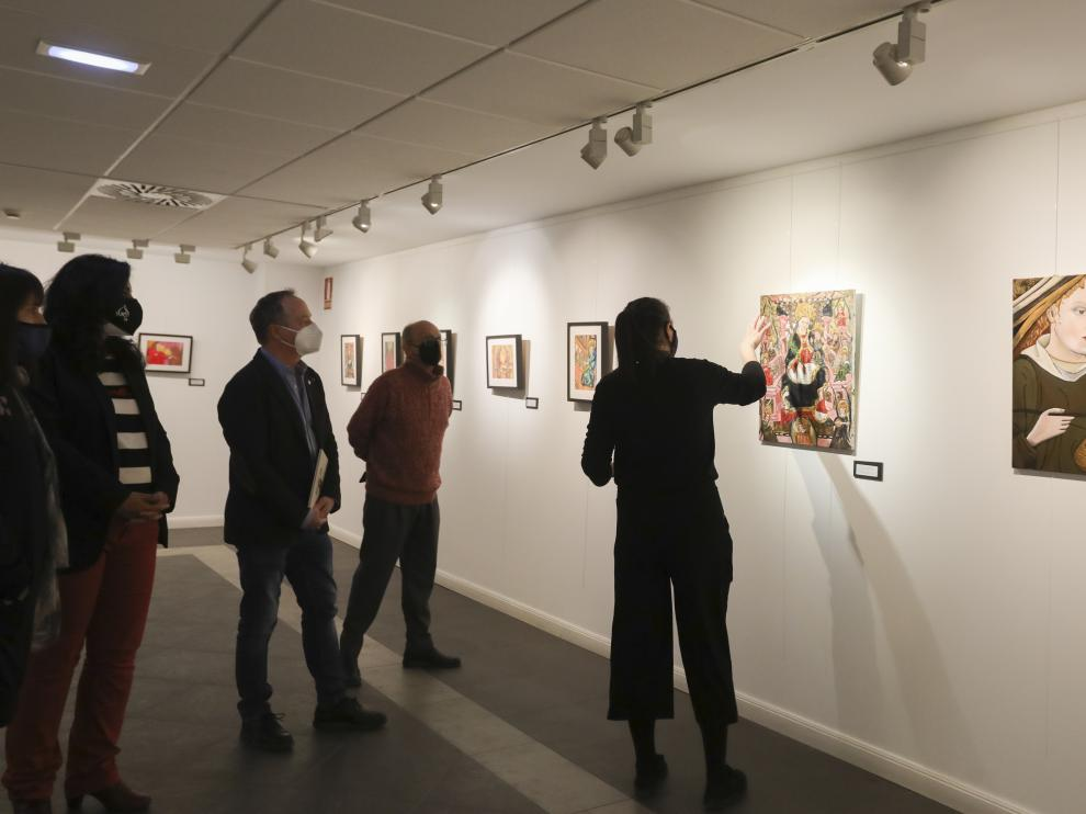 La exposición 'Delyramus' se han inaugurado este tarde en la sala de la Fundación CAI