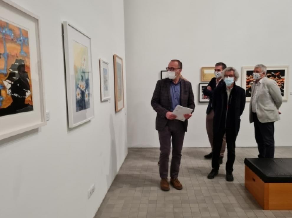 Imagen de la exposición en Zaragoza