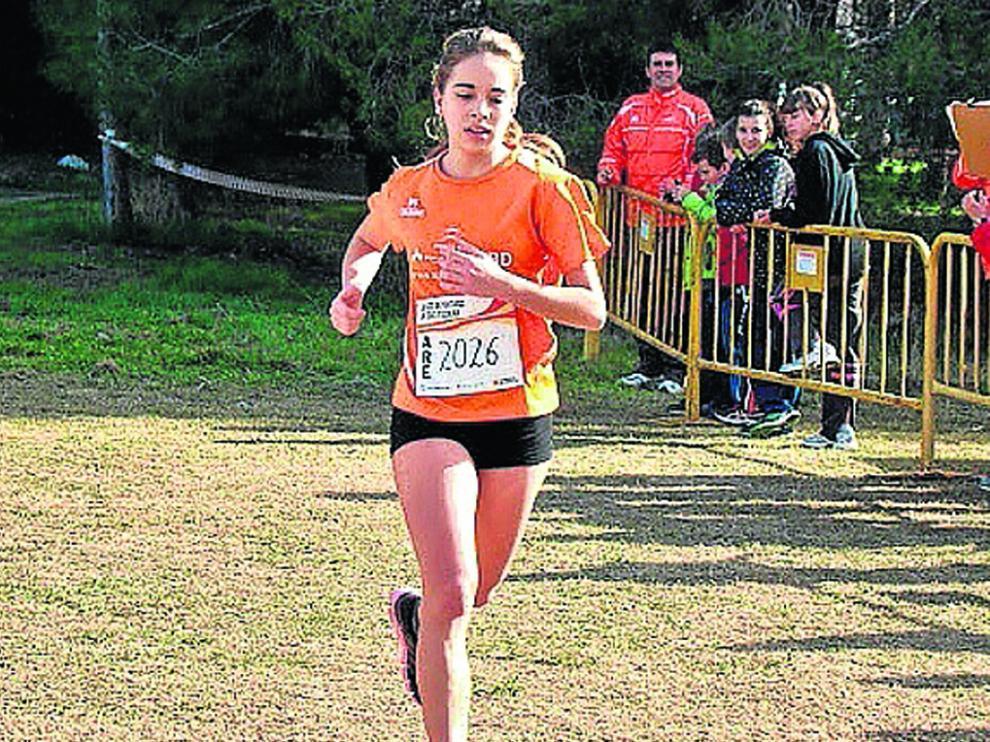 La deportista fragatina María Larrosa logró la primera posición de la 5K en una de las últimas jornadas de memorial.