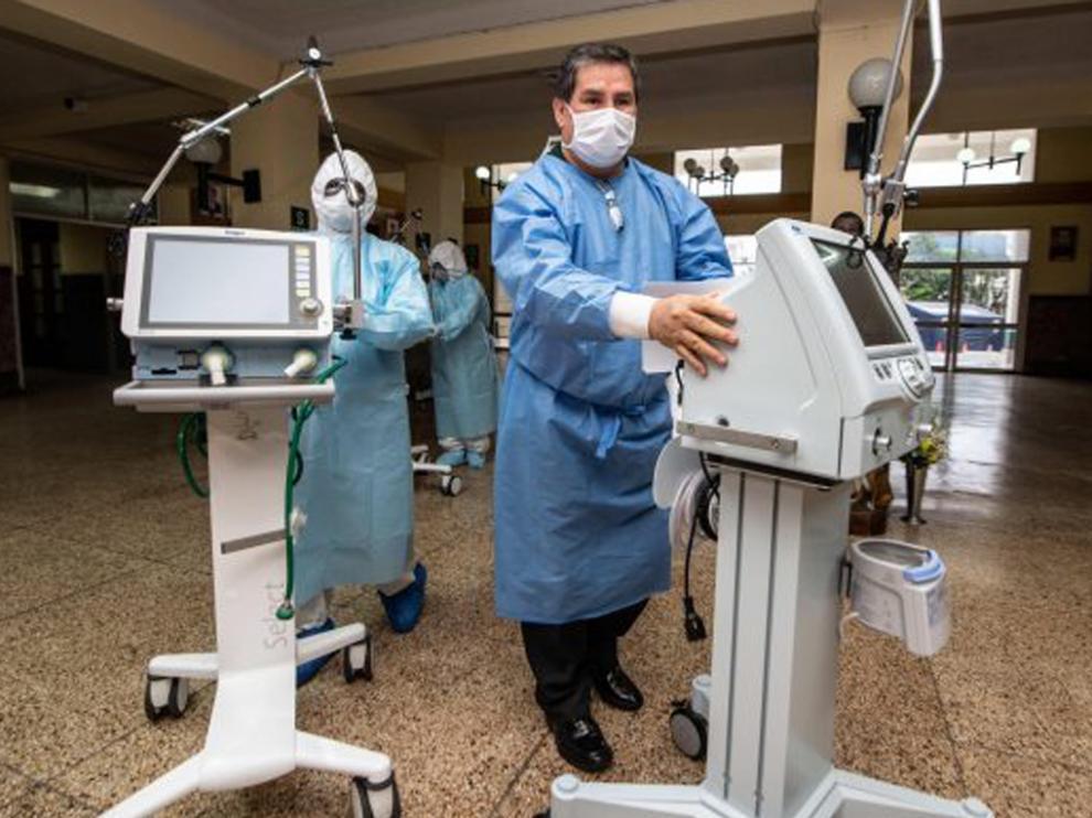 Ventilador para pacientes covid