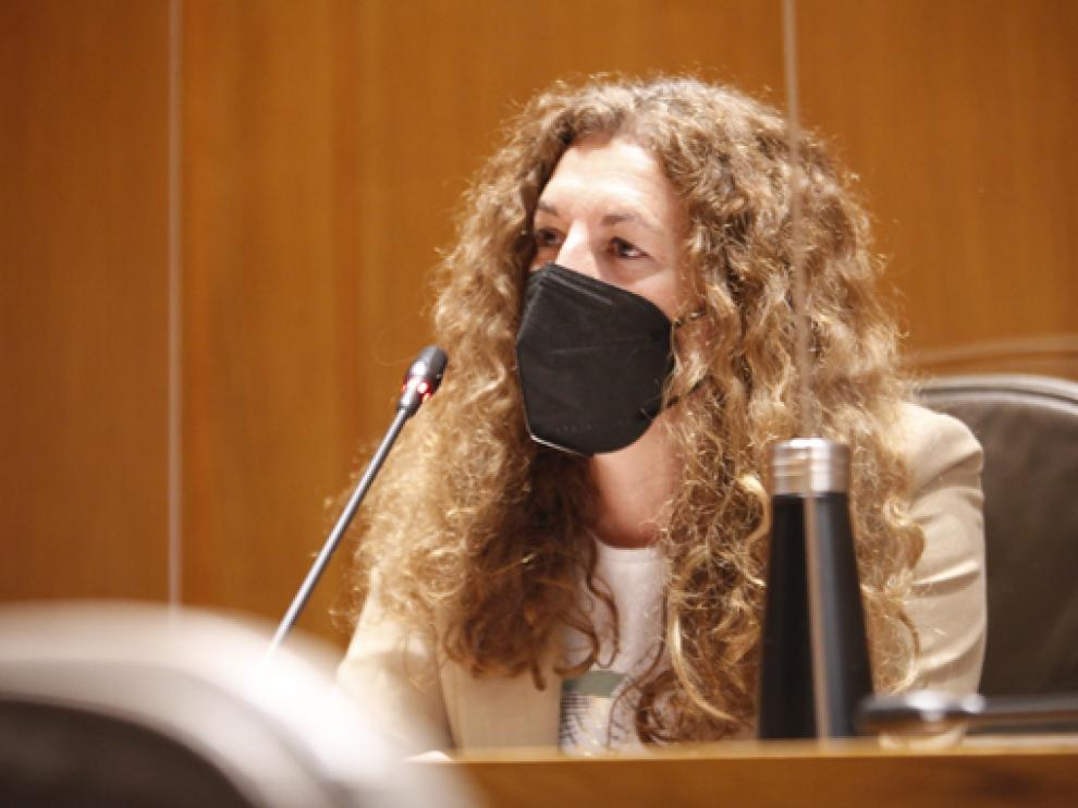 Beatriz Acín, diputada de Ciudadanos.
