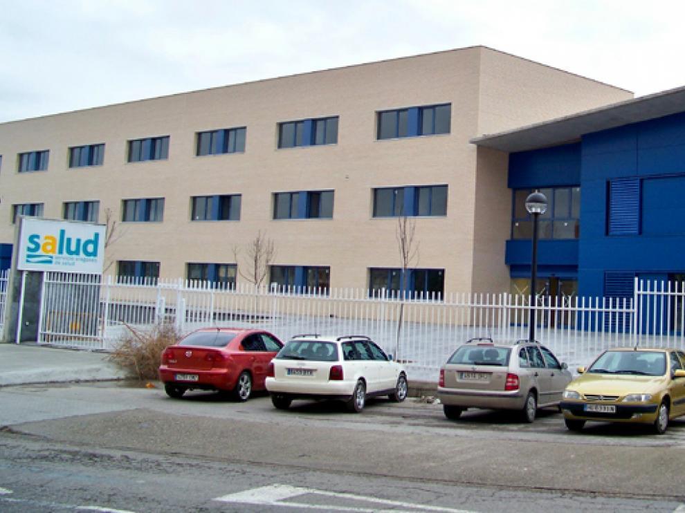Centro de Salud de Fraga.