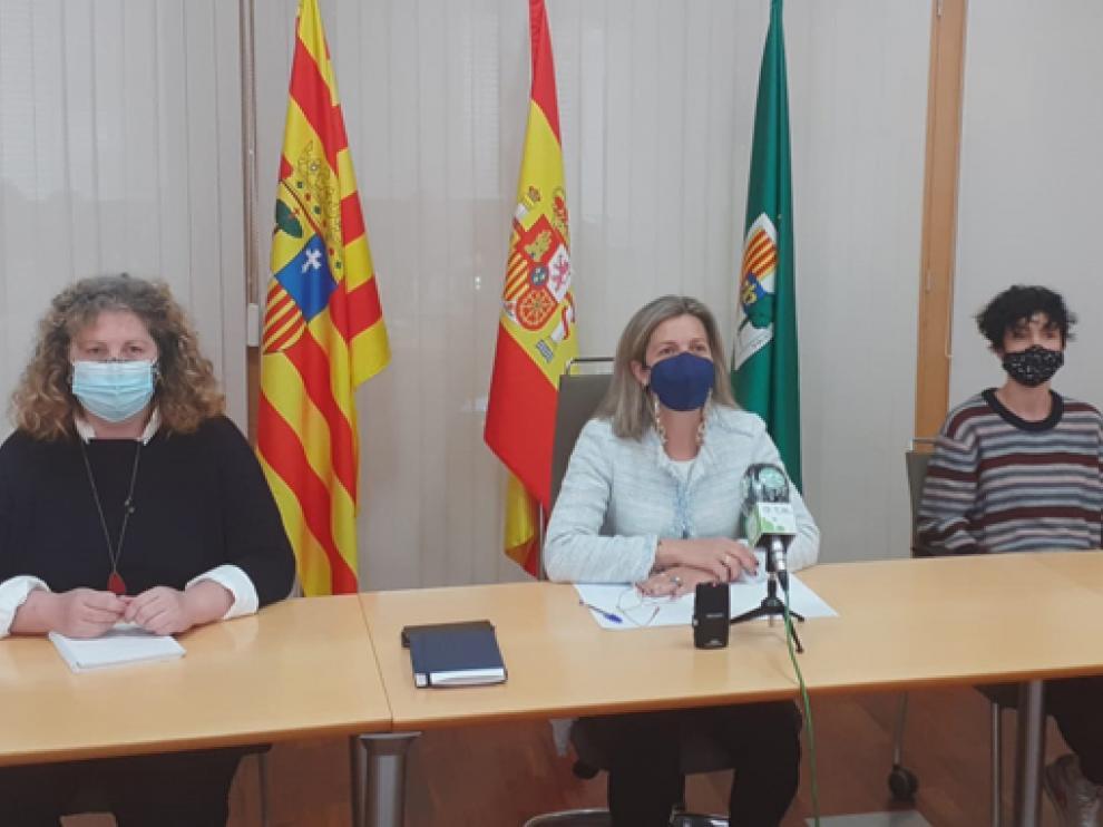 Representantes municipales y del grupo Génesis presentaron el curso de cortometraje.