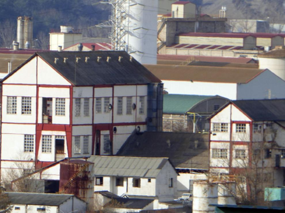 Fábrica de Inquinosa de Sabiñánigo.