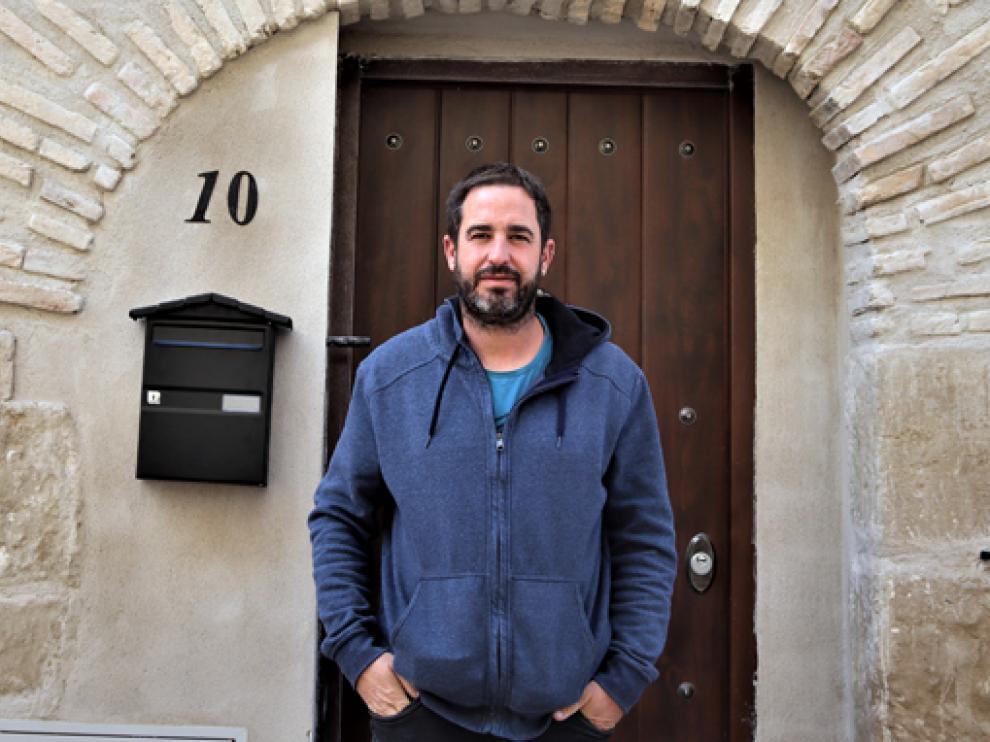 Joaquín Ruiz, autor del proyecto 'Os Monegros'.