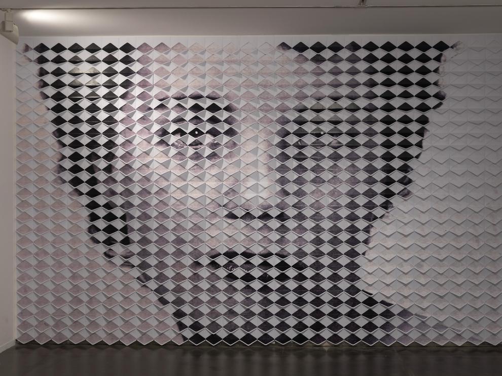 El mural 'Ardua', de Susana Blasco.