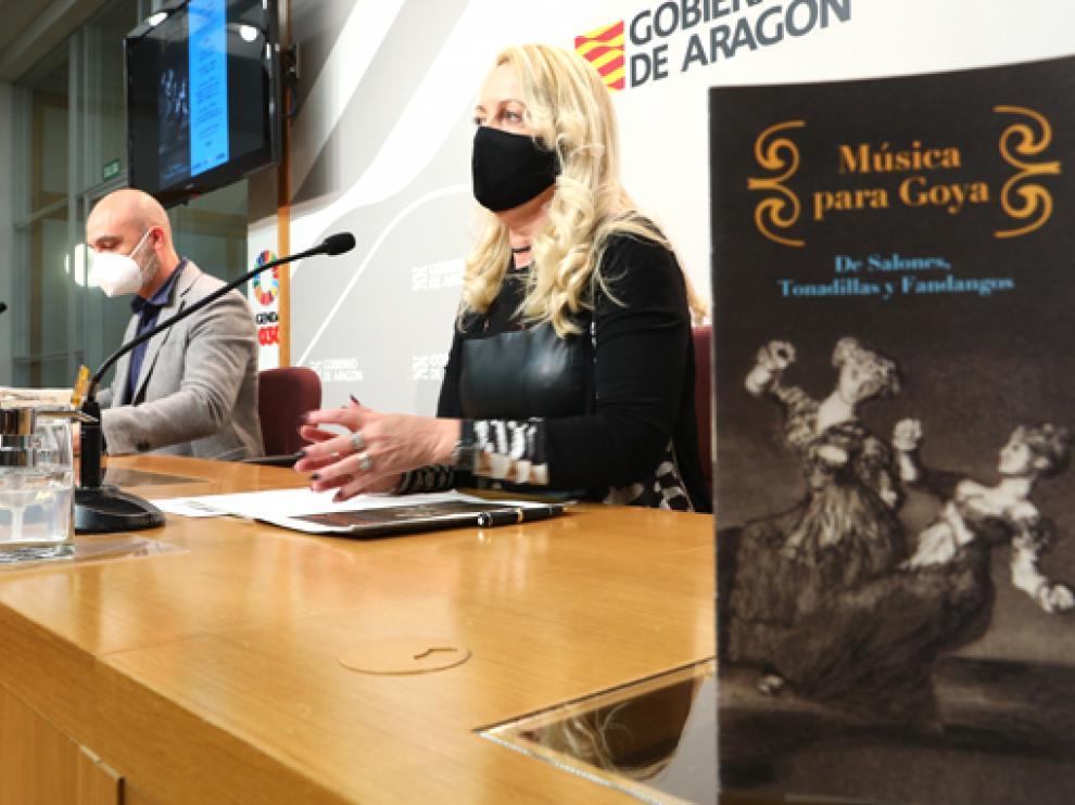 Víctor Lucea y Ros Cihuelo presentaron el ciclo Música para Goya.