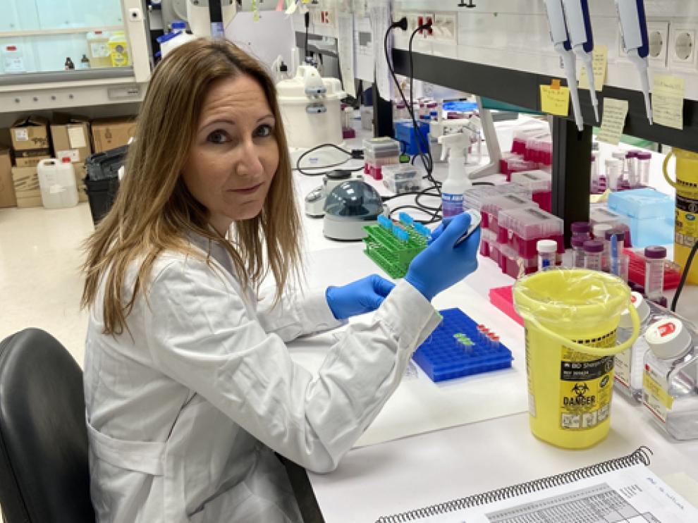 La jaquesa Ana Pardo Saganta es investigadora principal en el Centro de Investigación Médica Aplicada de Navarra.