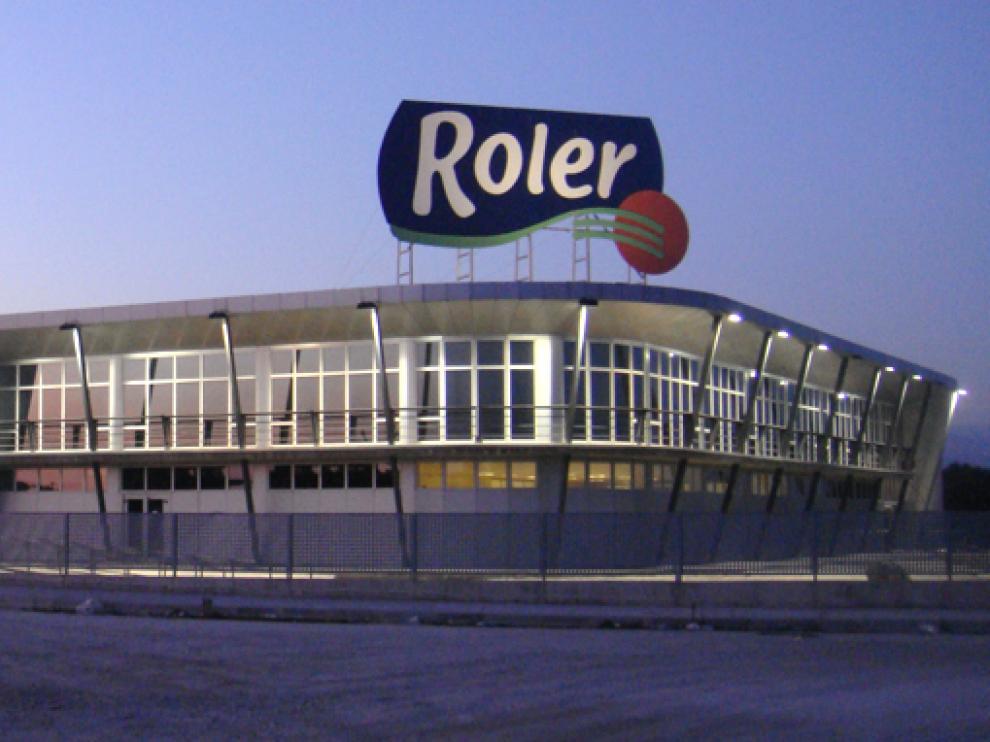 Planta de producción de Roler en la localidad cacereña de Peraleda de la Mata.