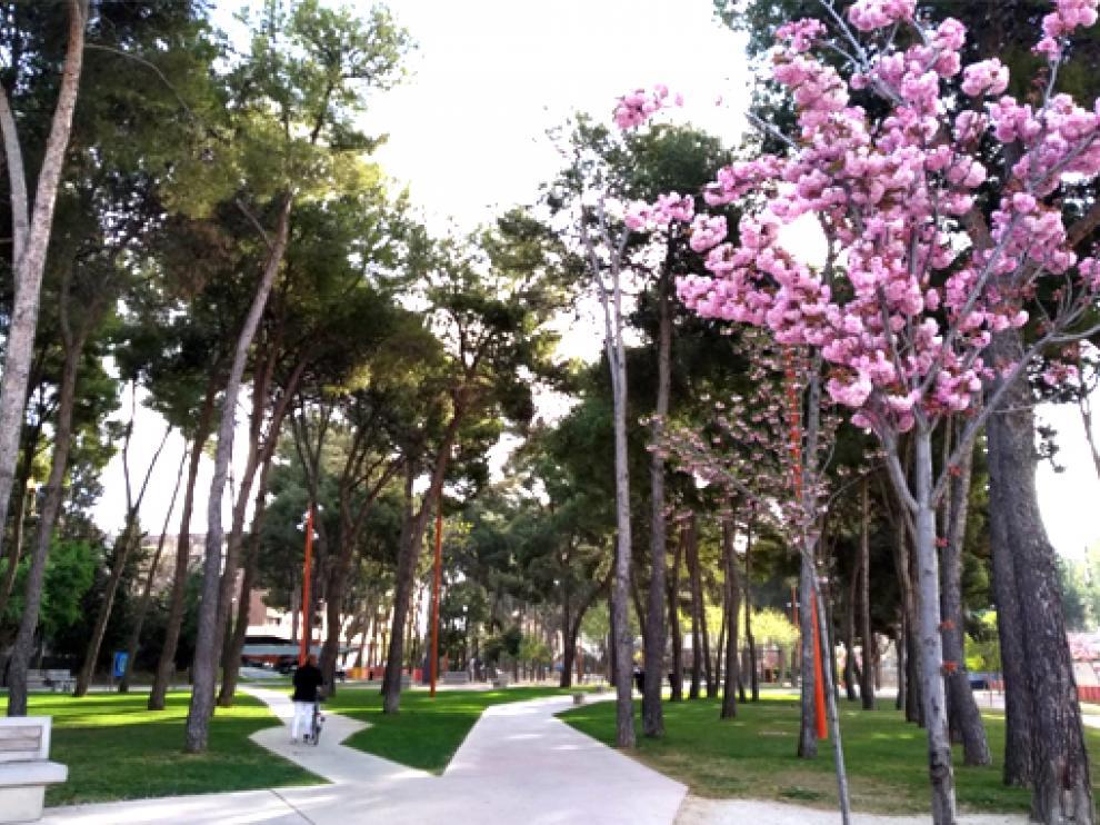 Parque del Encuentro de Huesca.