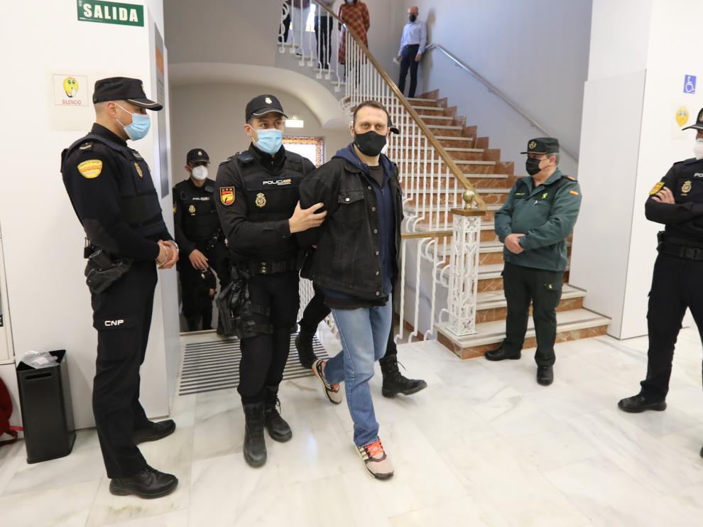 Segunda sesión del juicio contra Igor el Ruso
