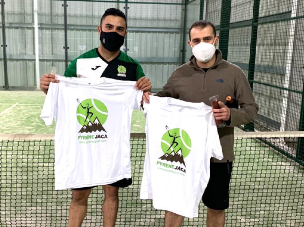 Miguel Bahamonde y David Martín se proclamaron campeones de la Liga Social PyreneSport.