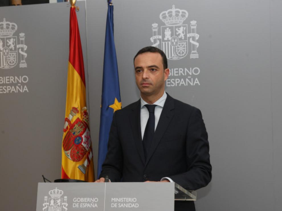 El secretario general de Salud Digital Alfredo González