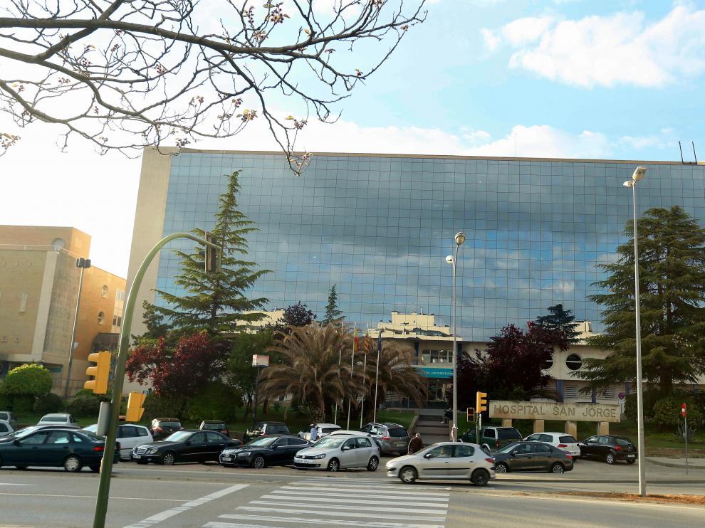 Vista exterior del Hospital.