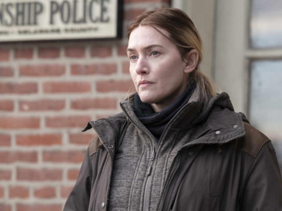 La actriz Kate Winslet estrena este domingo en HBO la serie 'Mare of Easttown'.