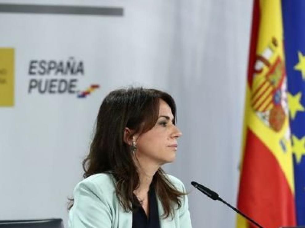 La Secretaria de Estado de Sanidad Silvia Calzón