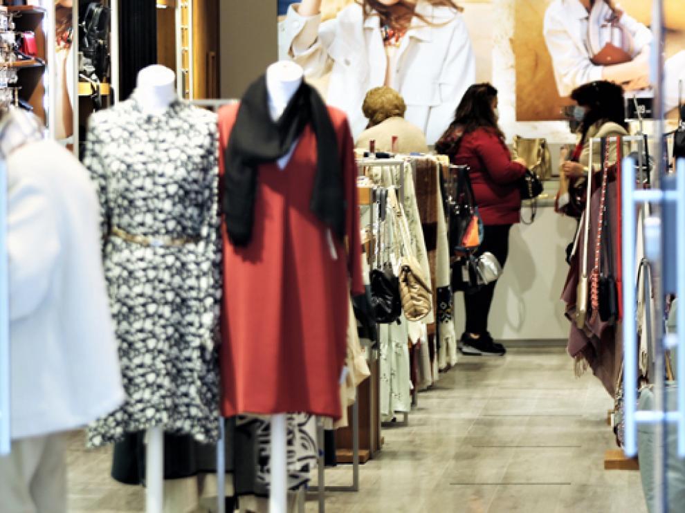 Comercio en la ciudad de Huesca.
