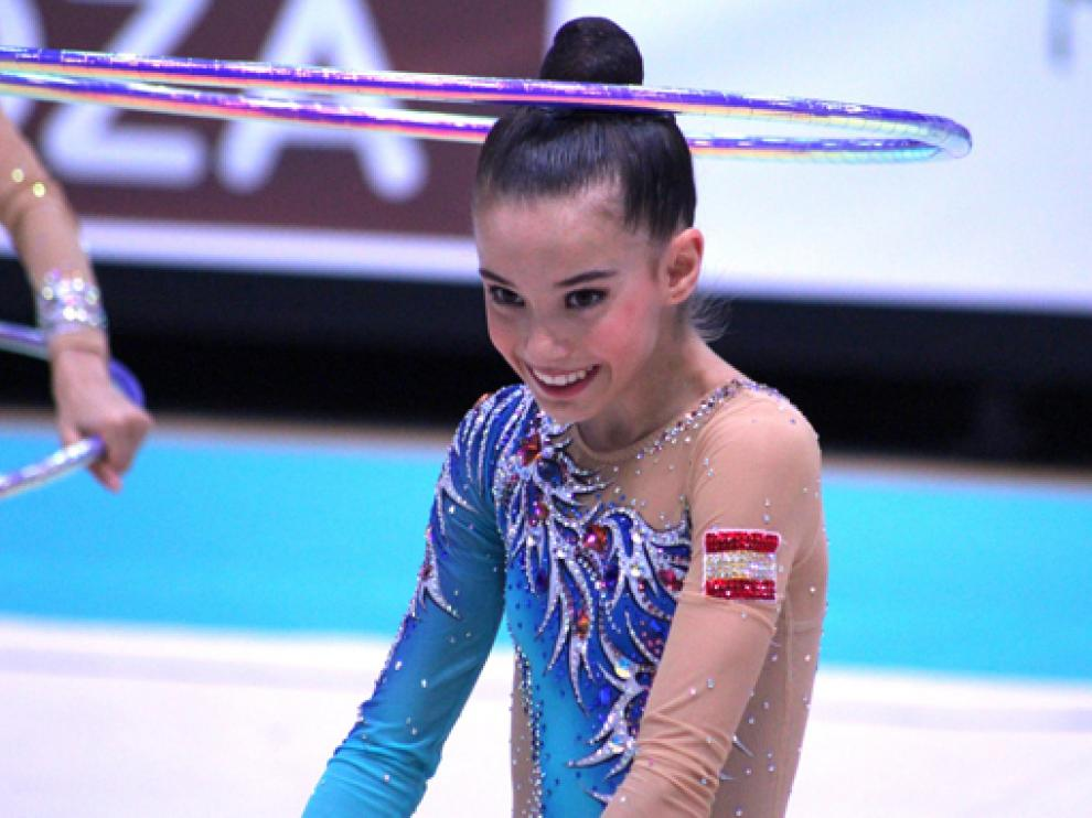 Inés Bergua compite este fin de semana con la selección en Uzbekistán.