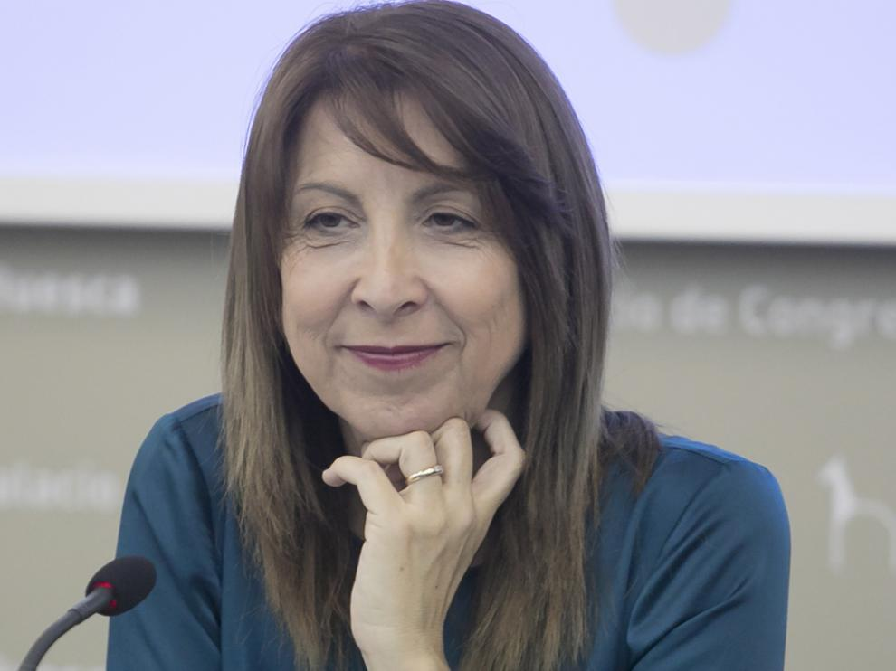 Berta Fernández, alcaldesa de Sabiñánigo.