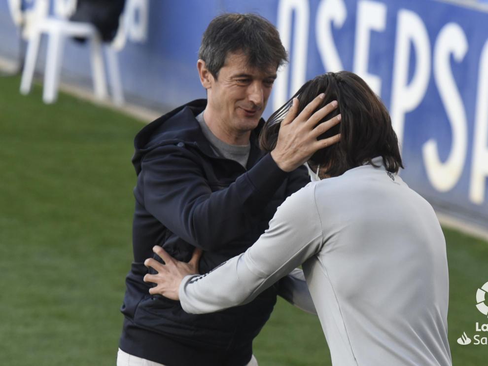 Pacheta, entrenador de la SD Huesca