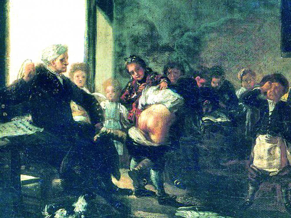 'La letra con sangre entra', de Francisco de Goya.