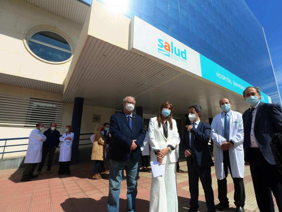La consejera de Sanidad presenta la nueva Unidad de Urgencias foto pablo segura 19 - 4 - 21