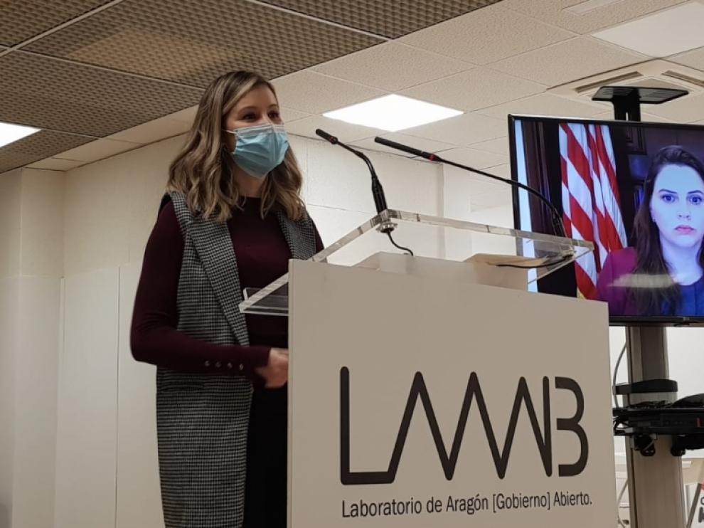 Presentación del programa AWE en el LAAAB
