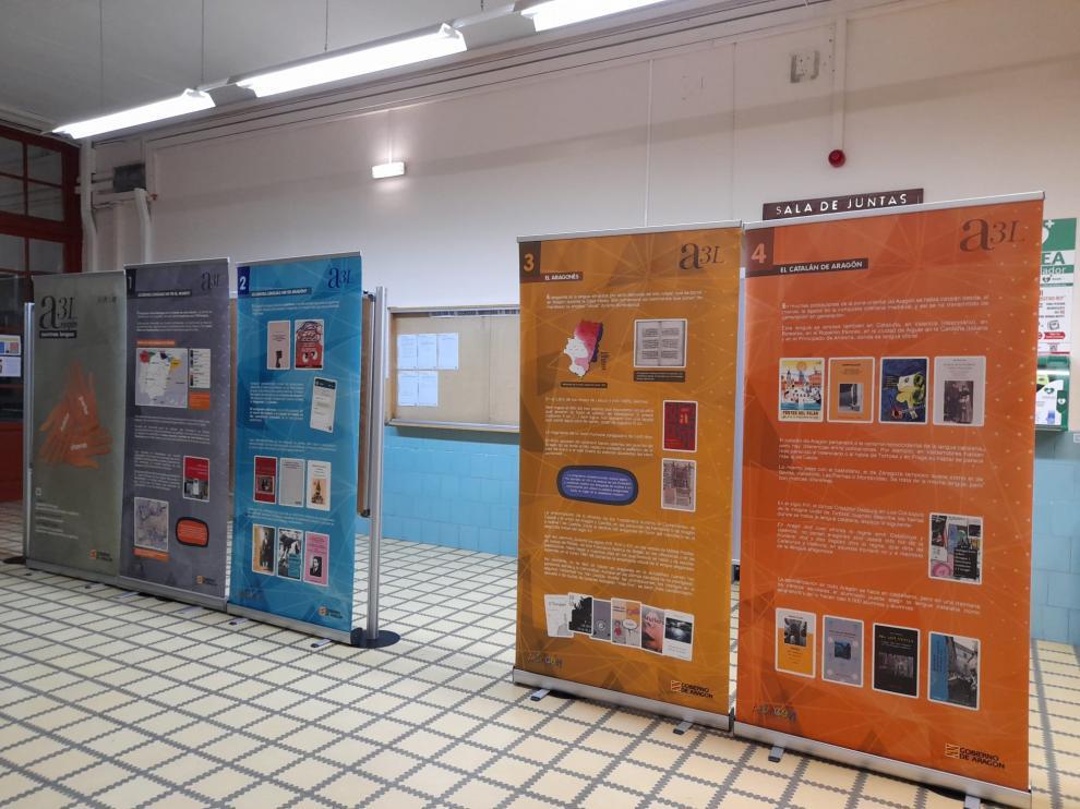 Exposición en el Campus de Huesca