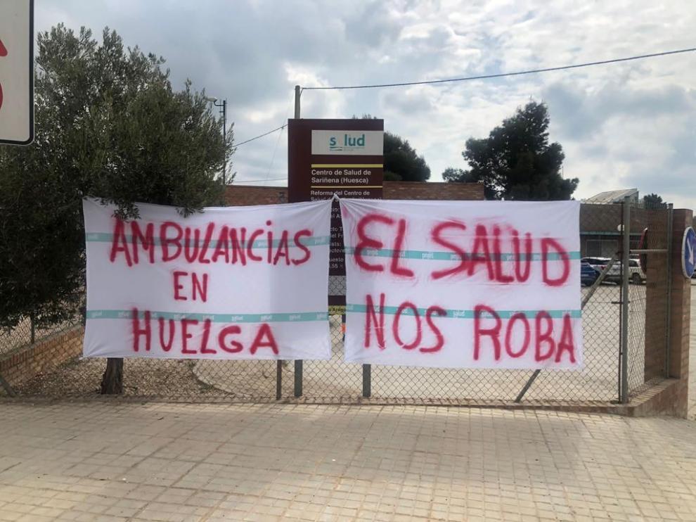 Reivindicaciones del transporte sanitario en la comarca de Los Monegros