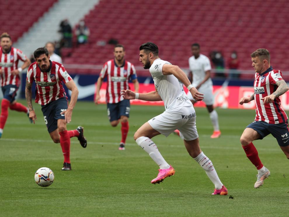 El Huesca no ha podido con el Atlético de Madrid